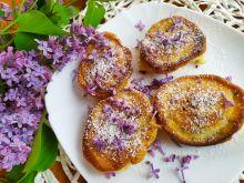 Placuszki z kwiatami lilaka pospolitego