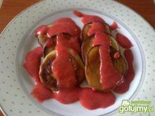 Placuszki z musem truskawkowym 2