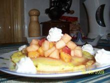 Placuszki z owocami.