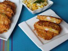 Placuszki z warzyw i mięsa