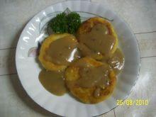 Placuszki z ziemniaków gotowanych