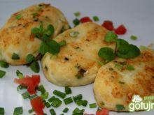 Placuszki ziemniaczane z serami