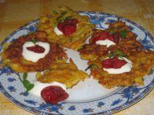 placuszki ziemniaczno-marchewkowe