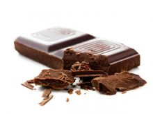 Plamy z czekolady