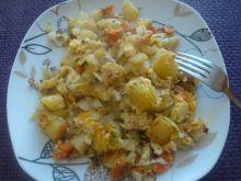 Podsmażone warzywa z dodatkami