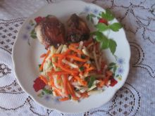 Podudzia z kurczaka  z warzywami