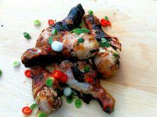 Podudzie z kurczaka w marynacie śliwkowej