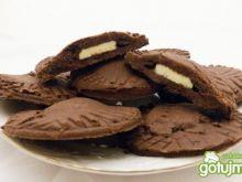 Podwójnie czekoladowe ciasteczka