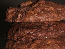 Podwójnie czekoladowe ciastka z migdałami