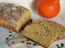 Podwójnie dyniowy chleb na zakwasie