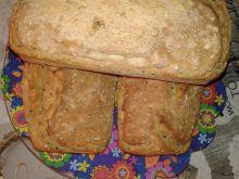 Podwójnie orkiszowy i potrójnie sezamowy chlebek