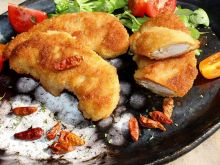 Podwójnie panierowane ostre polędwiczki z kurczaka
