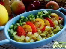 Podwójnie pomidorowo-ogórkowa surówka