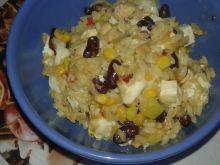 Podwójnie serowe risotto z papryką i nie tylko