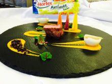 Polędwica wołowa/marchewka/czarny ryż