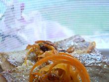 Polędwica z dorsza z marchewką
