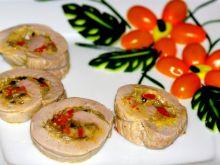 Polędwiczka faszerowana warzywami