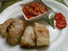 Polędwiczka - sajgonka z sosem chińskim