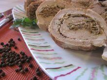 Polędwiczka wieprzowa faszerowana pieczarkami