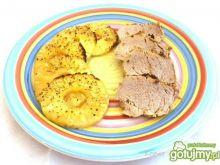Polędwiczka wieprzowa z ananasem