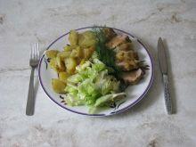 Polędwiczka z zapiekanymi ziemniakami