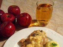 Polędwiczki wieprzowe z jabłkiem