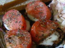 polędwiczki z cukinią i pomidorami