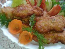 Polędwiczki z kurczaka w cieście naleśnikowym