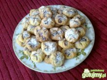 Półfrancuskie ciasteczka z marmoladą