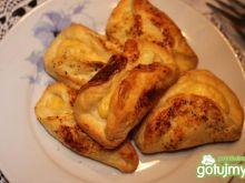 Półfrancuskie pakieciki z serem i przyp.