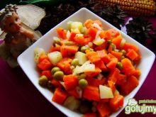 Polska  sałatka warzywna
