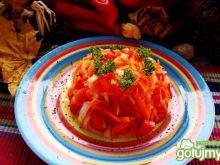 Pomarańczowa surówka obiadowa
