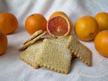 Pomarańczowe ciasteczka digestive