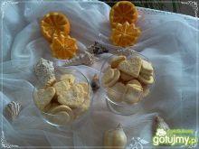 Pomarańczowe ciasteczka z cukrem