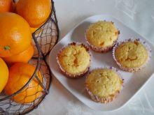 Pomarańczowe muffinki z białą czekoladą