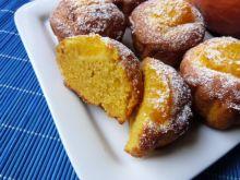 Pomarańczowe muffiny z dynią hokkaido
