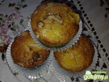 Pomarańczowe muffiny z mandarynką