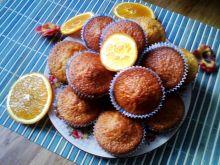 Pomarańczowe muffiny z oliwą z oliwek