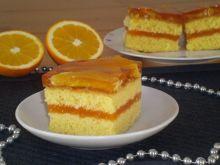 Pomarańczowiec na biszkopcie