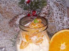 Pomarańczowo miodowy serniczek (w wersji mini)