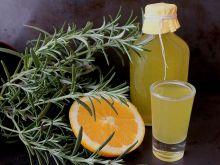 Pomarańczowo-rozmarynowa wódka zimowa