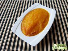 Pomarańczowy mus z dyni i jabłek