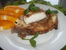 Pomarańczowy stek z rekina
