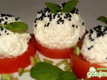 Pomidor-Ser-Chrzan na jeden chaps