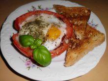 Pomidor z jajkiem