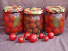Pomidorki koktajlowe w galarecie