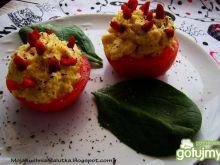 Pomidorki nadziewane pastą jajeczną