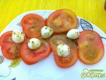 Pomidorki z serem Mozarella