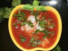 Pomidorowa  na wieprzowinie