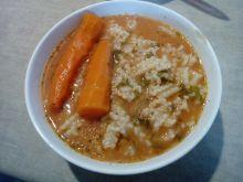 Zupa pomidorowa na wieprzowinie